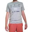 T-Shirt F.L.K 2012 - Gris chiné