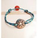 Bracelet COMPASS - Azur