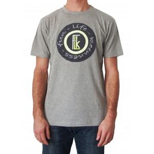 a1530db080fe2 T-shirt STYLE - Gris chiné - f.l.k Clothes - Polos Homme et Femme